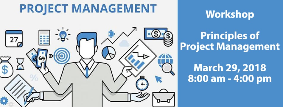 Principles of Project Management Banner